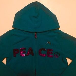 The Children's Place Teal Hoodie